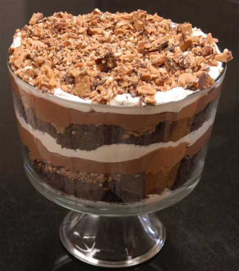 chocolate trifle recipe dishmaps