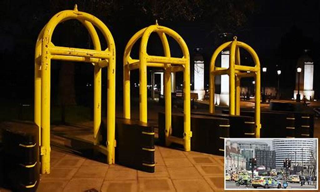 #London #Tourist #Hotspots #Install #Gates #After #Terror #Attack