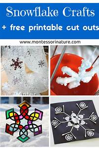 Christmas Invitation Paper Printable Snowflake Crafts For Kids And Free Printable Cut Outs