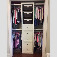 Popular Bedroom Closet Organizers For Small Closets For