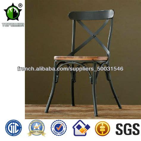 chaise style industriel loft mode de style industriel en métal chaise chaises en