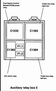 Could U Please Send Me A Fuse Box Diagram For A 2004 Ford F250 Super Duty 6 0l Diesel Crew Cab