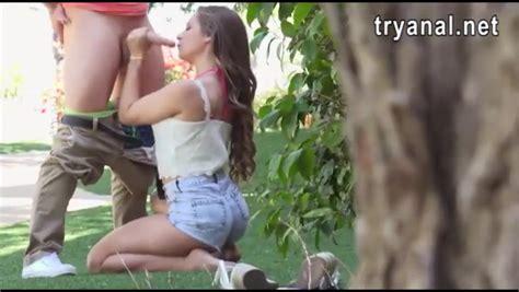 Nasty Amateur Girlfriend Cassidy Klein Anal Sex Outdoors