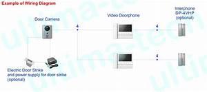 Commax 7 U0026quot  Video Doorphone W  Microsd Slot And Door Camera