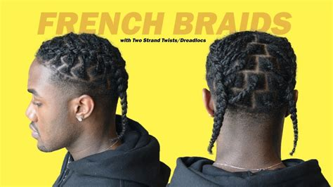 How To French Braid (easy Xxxtentacion Hairstyle) Two