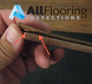 Laminate Delamination   All Flooring Inspections