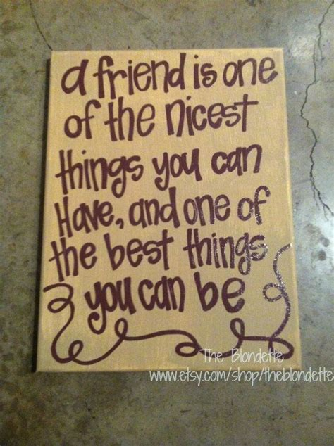 for best friend quote friendship quotes on canvas quotesgram Canvas
