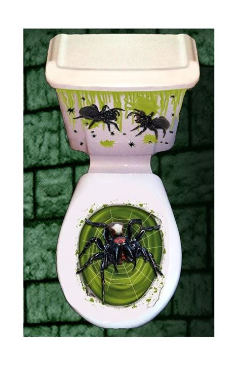 Novelty Bathroom Pictures by Horror Bathroom Toilet Seat Lid Cistern Cover