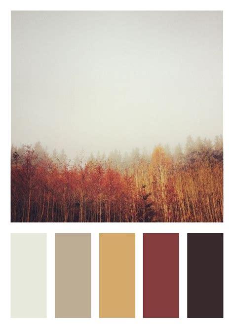 Color Scheme  Fall Theme  Dark Brown, Deep Red, Gold