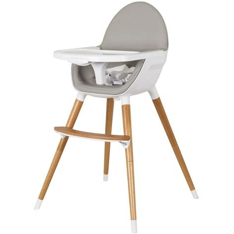 hauck chaise haute childcare baby high chair w timber legs in white buy