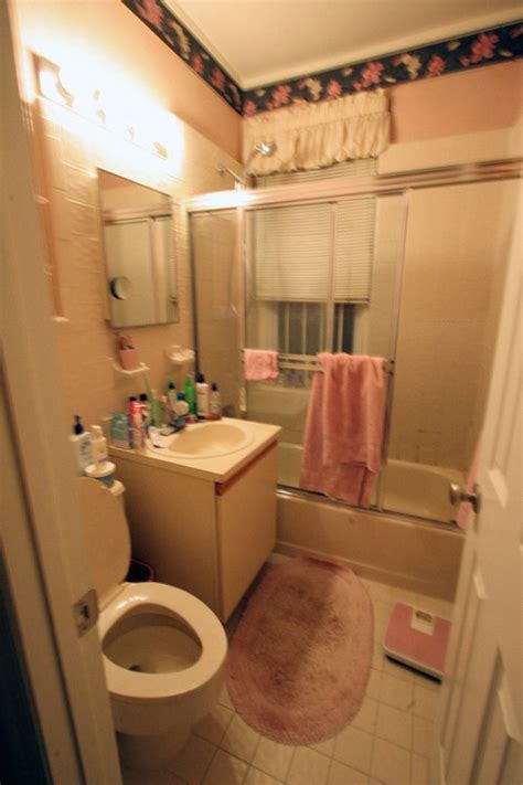 nyc small bathroom renovation beforeafter