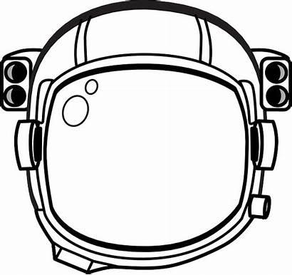 Astronaut Helmet Space Clip Vector Transparent Hat
