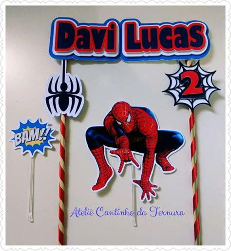 topo de bolo de papel homem aranha no elo7 ateli 234 cantinho da ternura d629ee