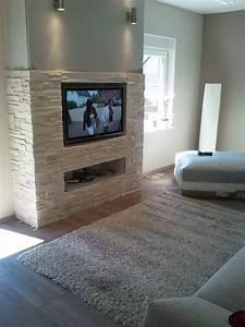 Wohnzimmer Wand Steine : tv wand naturstein ~ Sanjose-hotels-ca.com Haus und Dekorationen