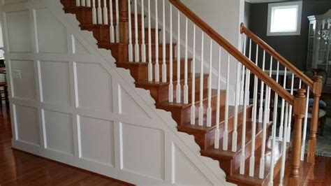 wainscoting chair rail foyer stairs wainscoting treatment