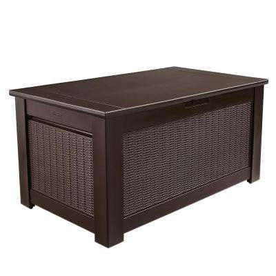 Rubbermaid Patio Chic Storage Bench Deck Box by Rubbermaid Deck Boxes Sheds Garages Outdoor Storage