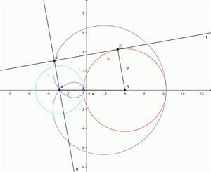 Kreismittelpunkt Berechnen : mp forum 2 ber hrende kreise ber hren eine gerade in 2 punkten matroids matheplanet ~ Themetempest.com Abrechnung