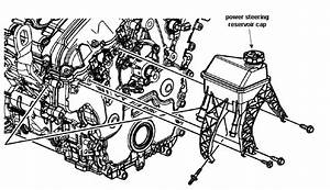 Where Do I Put In Power Steering Fluid In 2009 Vue 6 Cyl