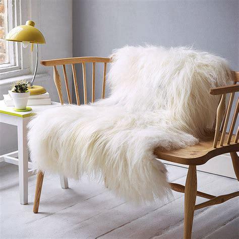 Grey Faux Sheepskin Rug by White Or Taupe Icelandic Sheepskin Rug By Idyll Home Ltd