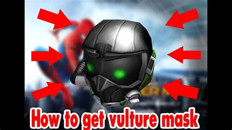 vultures mask roblox event  youtube