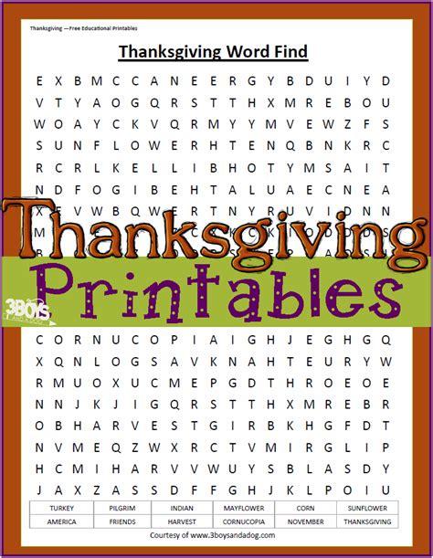 word printables thanksgiving printables word find worksheet the house