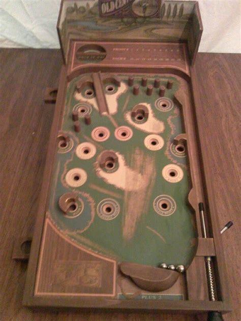 century golf wooden tabletop pinball machine ebay