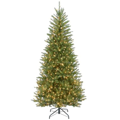 dunhill christmas tress home depot fir christimas trees national tree company 7 1 2 ft feel real spruce hinged artificial tree
