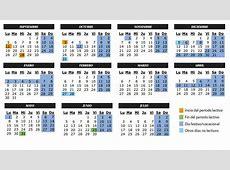 Vacaciones Calendario escolar del curso 20162017 en