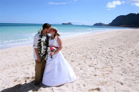 beach weddings  waimanalo