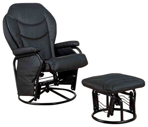 recliners with ottomans glider rocker with base