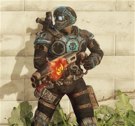 benjamin carmine  gears  war  weapon combos