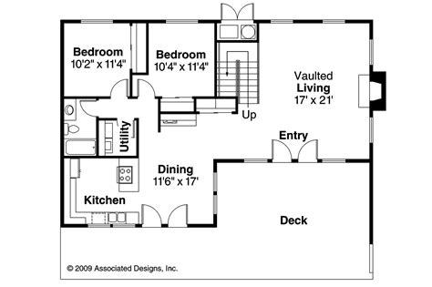 a house floor plan a frame house plans cascade 10 034 associated designs