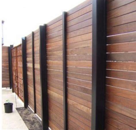 types  fences   home design ideas