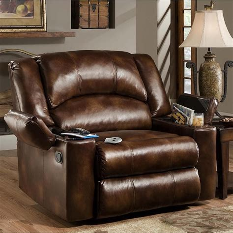 Oversized Rocker Recliner Leather by Furniture Marvelous Lazy Boy Leather Recliners For Living
