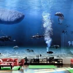 bill gates living room beautiful and aquariums and fish