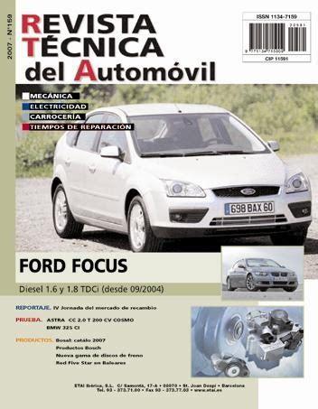 manual de taller ford focus diesel desde 9 2004 r159 regalo