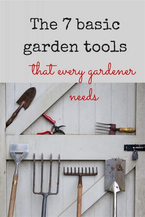 essential tools for gardening 7 essential garden tools to make your gardening life really easy the middle sized garden
