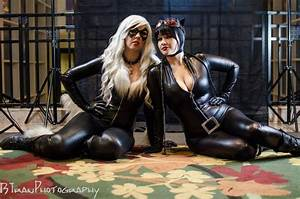 Black Cat and Cat Woman Print from SoniCat Cosplay ...