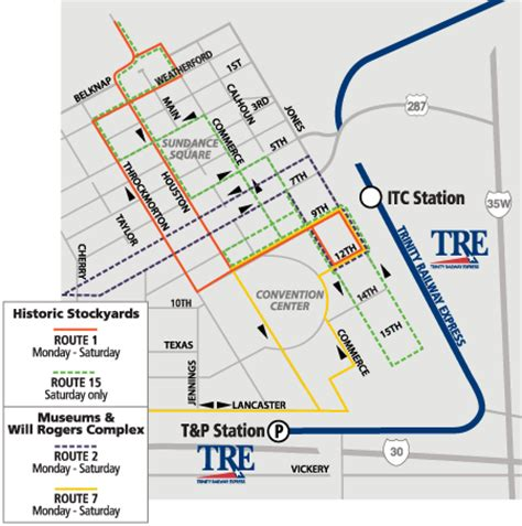 bureau call center dart org downtown fort worth route map