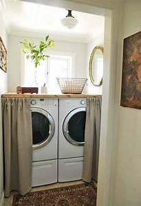 Lave Linge Petit Espace : les rangements et accessoires astucieux pour une petite ~ Premium-room.com Idées de Décoration