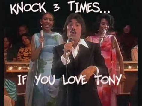 Knock Three Times On The Ceiling by Tony Orlando Knock Three Times