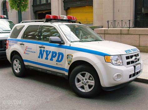 Tough Enough To Be Police Cars In New York City