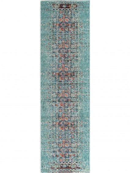 teppich laeufer casa tuerkis carpet rug casa turquoise