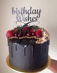 Black Man Happy Birthday Cake
