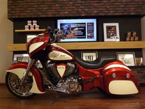 2014 Indian Chieftain Custom Dirty Bird Concepts Indian