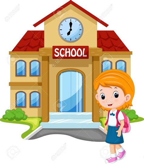 to go to school clipart clipground