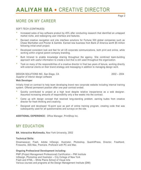 designer resume sles a collection of ideas to try