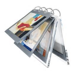 flip photo album 4x6 new ikea finlir clear lucite photo picture holder frame