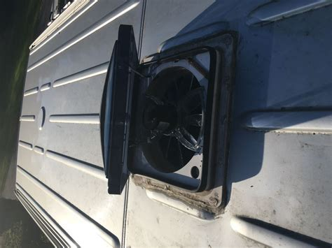 rv vent fan upgrade freightliner motorhome replacement dome for fan tastic