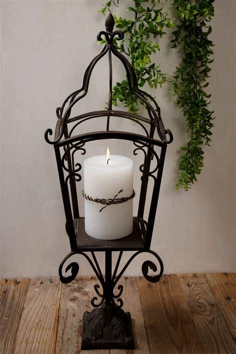 standing candle holder standing candle holder metal 27in